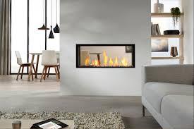 Wohn Esszimmer Ideen Exzellenter Glanz Doppelseitiger Kamin Design Ideen In Modernen