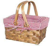 vintage picnic basket wooden vintage picnic baskets backpacks ebay