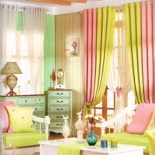 Curtains Pink And Green Ideas Blue Curtains For Living Room Modern Living Room Curtains Living