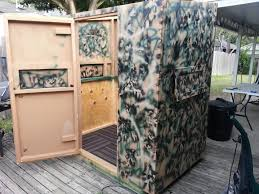 Hunting Ground Blinds On Sale Homemade Deer Blinds Modular 4x6 Blind Texas Hunting Forum
