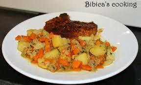 cuisiner chou pointu poêlée de chou pointu carottes et pommes de terre bibica s cooking