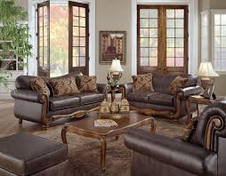 awesome traditional leather sofa set contemporary house design