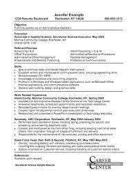 Sample Of Executive Assistant Resume by 14 Executive Assistant Resume Objective Resume Executive Assistant