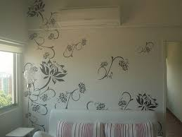 decorative painting ideas for walls wall decor idearag rolling