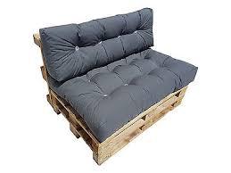 coussin pour canapé palette spzoo coussins matelas pour canapé palette siège ou dossier