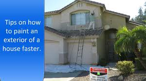 how to paint exterior of a house faster exterior painting tips