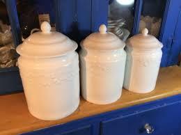 martha stewart kitchen canisters upc 766380491769 martha stewart collection 3 porcelain