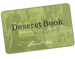 gift card book egift card deseret book
