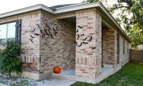 Decorate Your Home For Halloween How To Decorate Your Walls With Bats For Halloween Shelterness