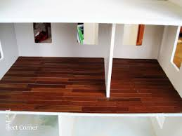 Laminate Flooring Corners The Project Corner Doll House Remodel Part 3