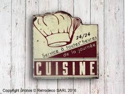 plaque d馗orative cuisine plaque décorative cuisine service à toutes heures déco brocante