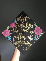 oliviaafrances Decorated grad cap graduation cap decorated cute