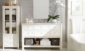 Bathroom Storage Cabinet Bathroom Storage Pottery Barn