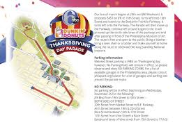 Rose Parade Route Map by 6abc Dunkin U0027 Donuts Thanksgiving Day Parade