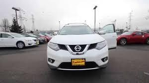 Nissan Rogue White - 2015 nissan rogue sl pearl white fc808194 kent tacoma
