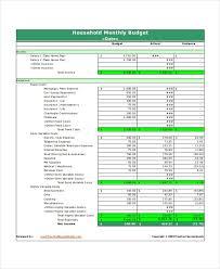 household budget worksheet hitecauto us