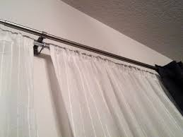 120 inch curtain rod ikea tension inches on modern home decoration