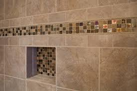 shower tile designs for bathrooms bathroom shower closeup on accent tile traditional bathroom