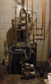 my burnham v 74 boiler is leaking the hvac company is estimating