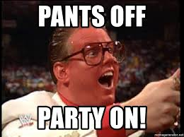 Pants Party Meme - pants off party on brother love meme generator