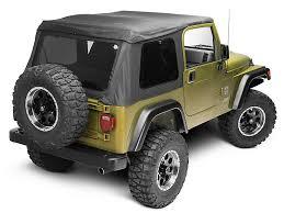 97 jeep wrangler parts barricade wrangler frameless top black j105217 97