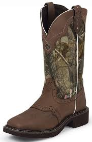s country boots sale justin womens square toe cowboy boots camo brown cowboy