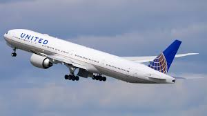 united airlines international carry on 4k united airlines inaugural boeing 777 300er landing takeoff