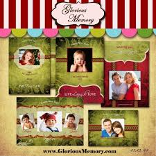 photoshop christmas card templates for photographers template design