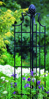 garden obelisk great black iron obelisks pinterest iron