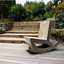 Garden Rocking Chair by Jovoto Rocking Chair Schaukelstuhl Aus Beton Dining Outdoors