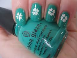 nail art 53 amazing four leaf clover nail art pictures design