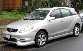 2003 toyota matrix xrs review toyotatrend toyota car reviews