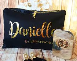 bridal makeup bags cosmetic bag etsy