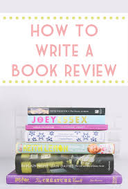 becky bedbug 5 tips for writing book reviews