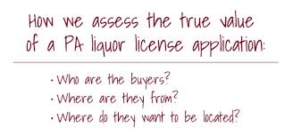 how to assess the true value of your liquor license in