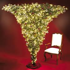 prelit christmas tree the 7 foot pre lit christmas tree hammacher schlemmer