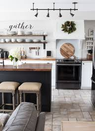 Modern Farmhouse Kitchen by Our Modern Farmhouse Kitchen Makeover Modern Farmhouse Kitchens