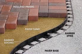 paver patio edging paver patio edging