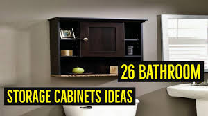 26 great bathroom storage ideas 26 bathroom storage cabinets ideas