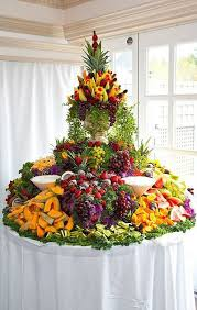 fruit table display ideas fruit table decorations for weddings images wedding decoration ideas
