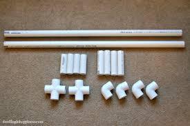 Super Reciclagem no Meio Ambiente Porta-Livros de Tubos de PVC  @DT76
