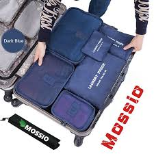 united baggage allowance coupons amazon com 4 set packing cubes travel luggage packing organizers