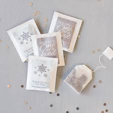 personalized tea bags wedding favor personalized tea bags a wedding cake