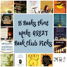 15 books that make great book club reads planes trains and