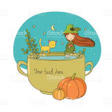 autumn theme halloween stock vector art 671404774 istock