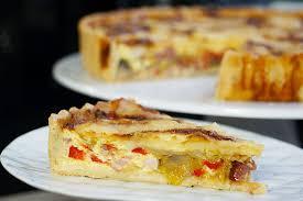 hervé cuisine quiche tarte aux légumes et fromage à raclette facile et maison