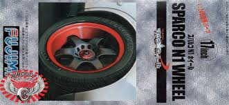si e auto sparco 1 24 17 sparco n1 wheels and tyres fuj 193281 fujimi
