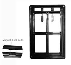 Patio Door Cat Flap by Amazon Com Enjoying Magnetic Door Pet Window Screen Flap Door