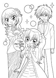 anime coloring pages printable funycoloring
