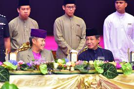 sultan hassanal bolkiah berita berkenan berangkat ke sambutan hari raya